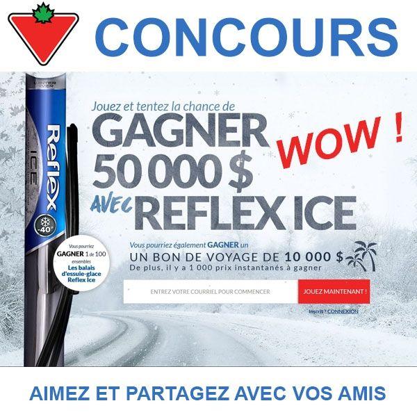 Concours Reflex ICE Gagnez 50 000$
