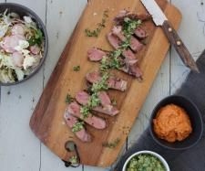 Recipe 'The perfect' sirloin steak by Gary Mehigan - Recipe of category Main dishes - meat