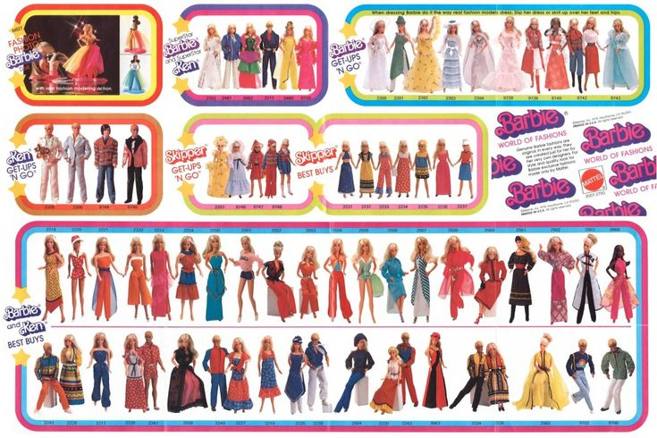 Barbie Fashions 1978
