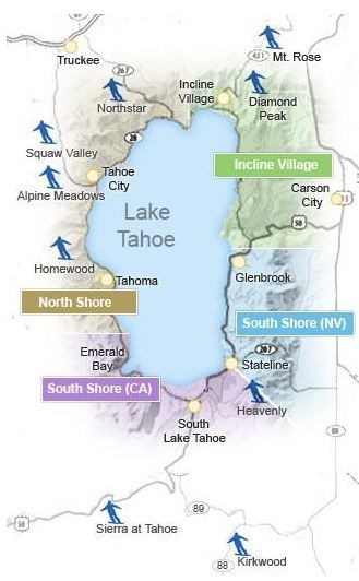 Tahoe Ski Resorts