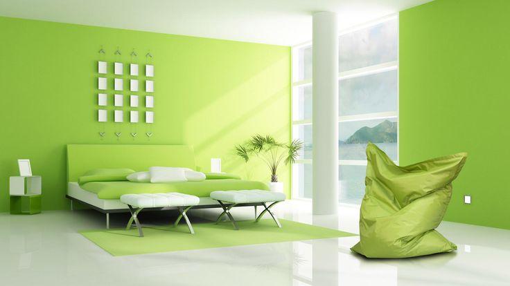 Poducha w zieleni