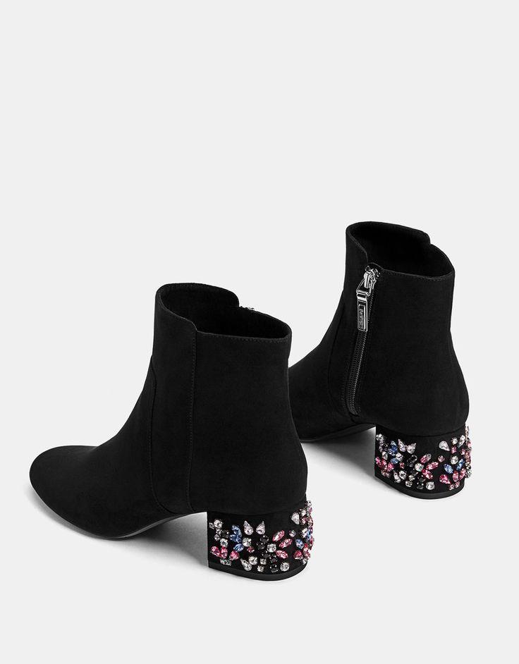 Bershka France Jewel Stiefeletten   – fashion