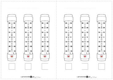 Termometry - ćwiczenie - Printoteka.pl