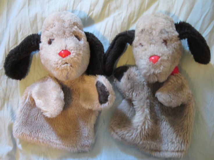 Sweep puppets (sooty)