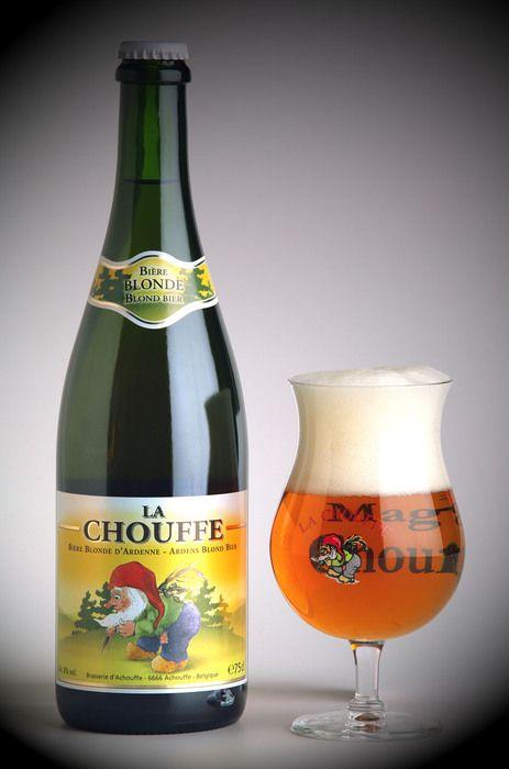 Cerveza La Chouffe  Achouffe, Bélgica
