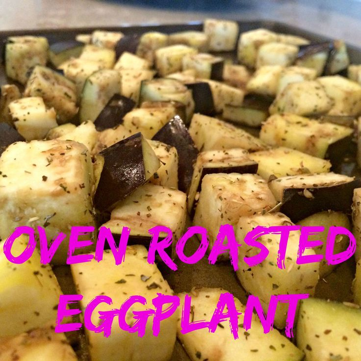 how to cook eggplant in oven