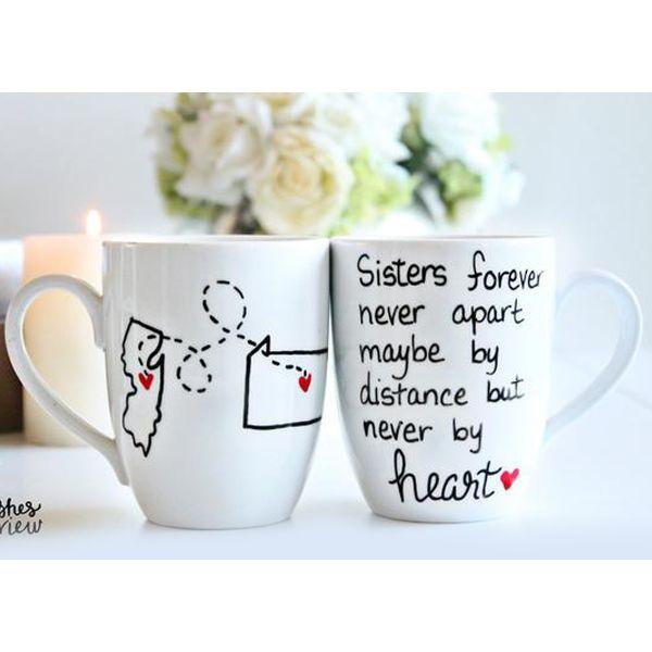 Long Distance Sister Coffee Mug
