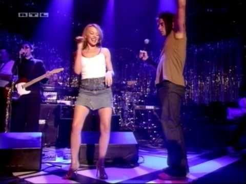 Kylie Minogue & Robbie Williams - Kids (Live TOTP 20-10-2000) HD - YouTube
