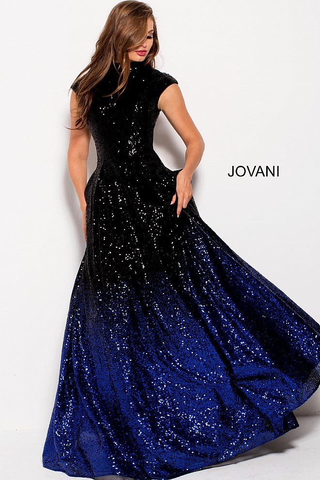 jovani 60497 black royal beaded ballgown | Mardi Gras Ball Gowns ...