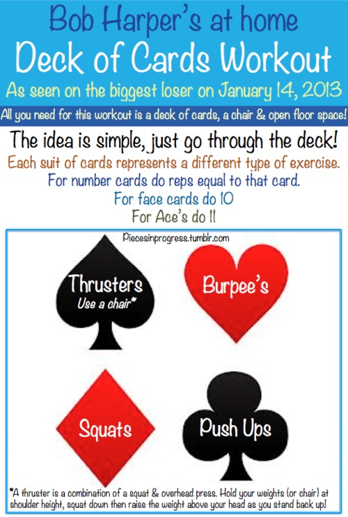 Bob Harper's Deck of Cards workout