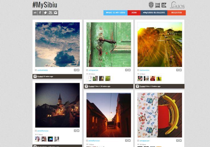 Sibiul, orasul meu de suflet, are de azi #MySibiu!