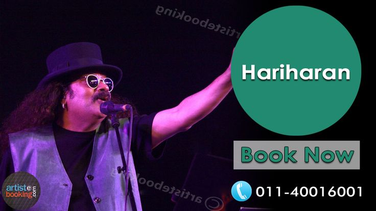 Book Hariharan From Artistebooking.com. #artistebooking #Hariharan #Singer. For More Details Visit : artistebooking.com Or Call : 011-40016001
