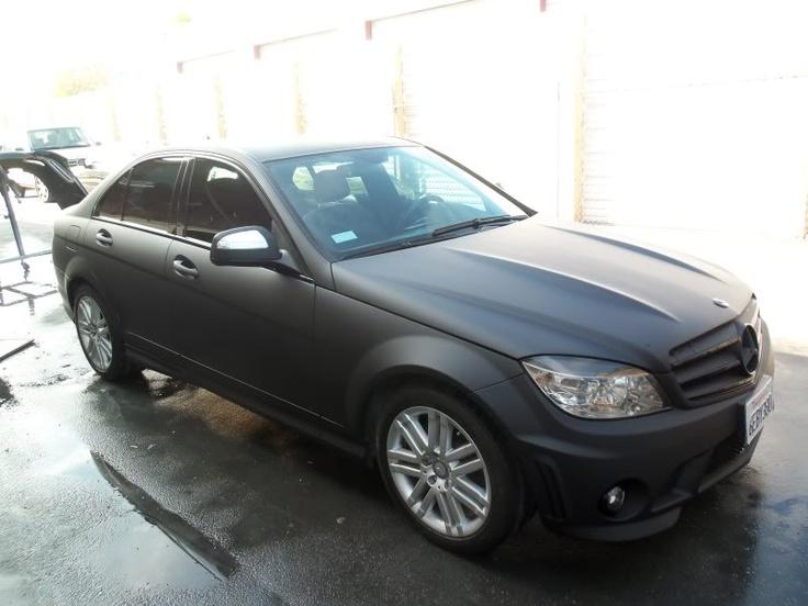 Black matte mercedes c300 toys pinterest black for Mercedes benz matte black
