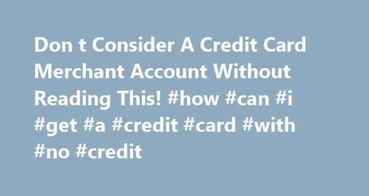 account card credit adult merchant no