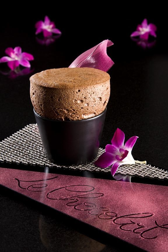 """Le Chocolat"" at Joël Robuchon Restaurant in the MGM Grand Resort Las Vegas.     Image courtesy of MGM Grand"