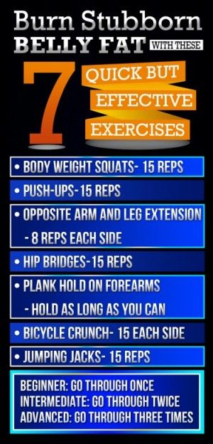 Exercises for quick weight loss at home