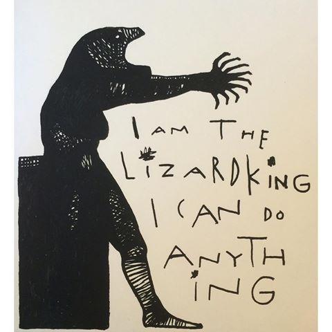 Artist: Patrik Evereus #evereusart #artbrut #rawart #fuckart #jimmorrison #lizardking