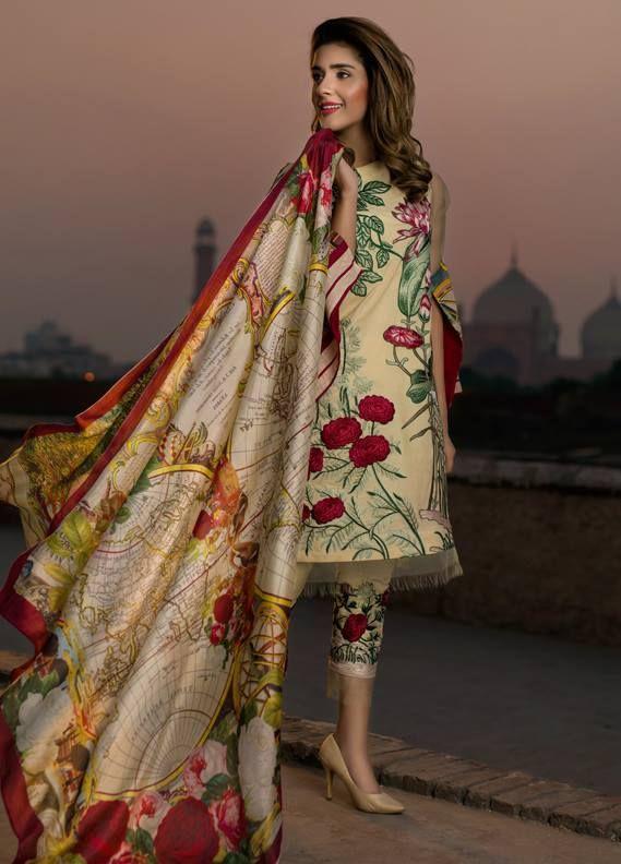 1296f0c80e Asifa & Nabeel Lawn Collection 2018 | PK Vogue #lawn #summerlawn  #pakistanidress #pakistanifashion #pakistaniclothing