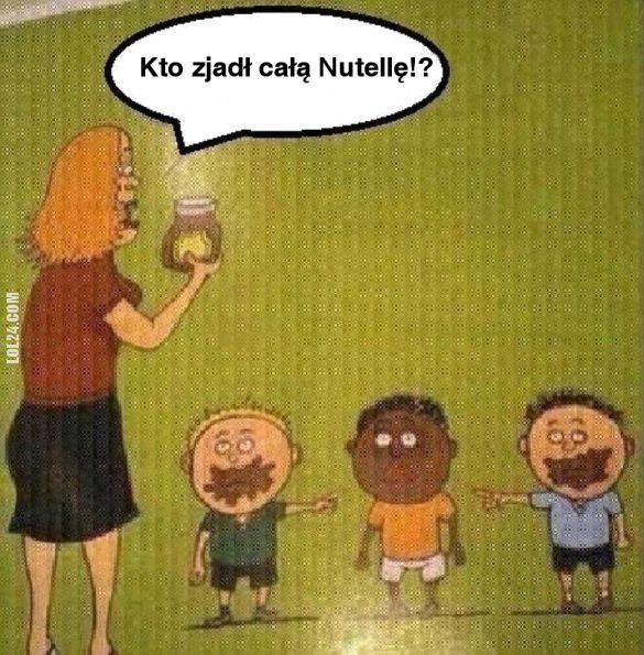Kto zjadł całą Nutellę!? #kto #zjadł #całą #nutellę