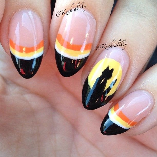 HALLOWEEN by keshialilly #nail #nails #nailart