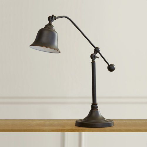 Affiliate Farmhouse Reitman 375 H Table Lamp With Bell Shade