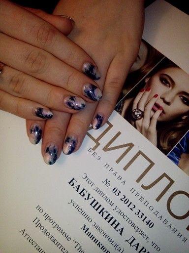 #nail #naildesign #cnd #design #manicure