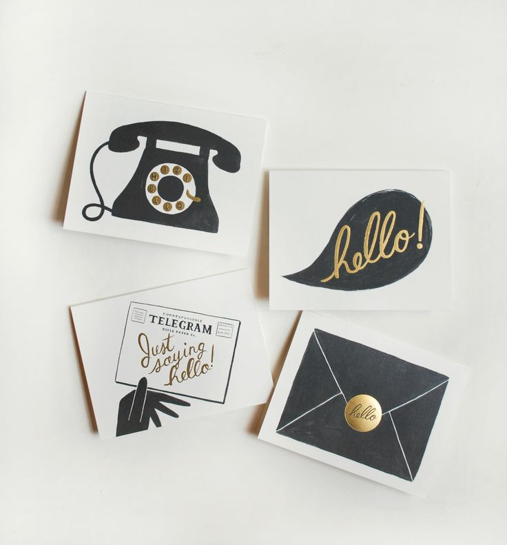 "Assorted ""Hello"" Card Set"