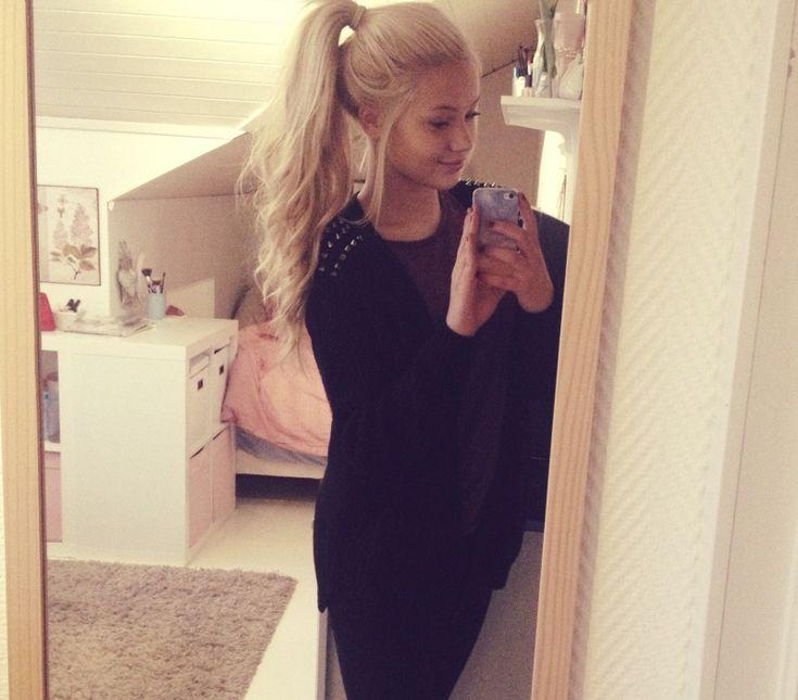 16 Best Erica Kvam Images On Pinterest  Blonde Ponytail-5439