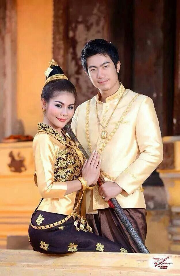 Traditional Bride & Groom clothing