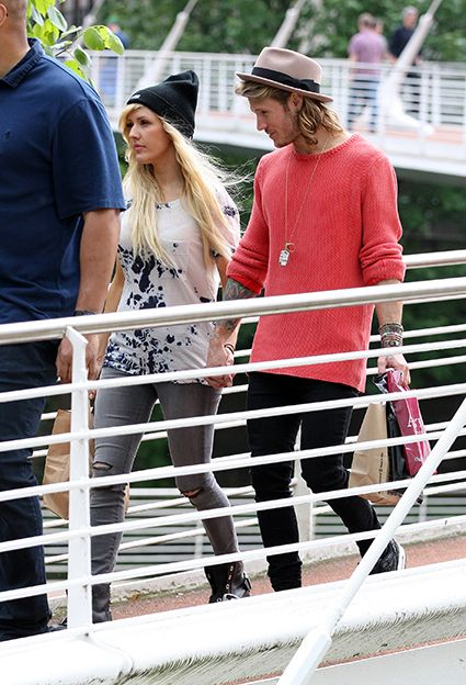 Dougie Poynter and Ellie Goulding spotted holding hands in Manchester again - Dellie images - sugarscape.com