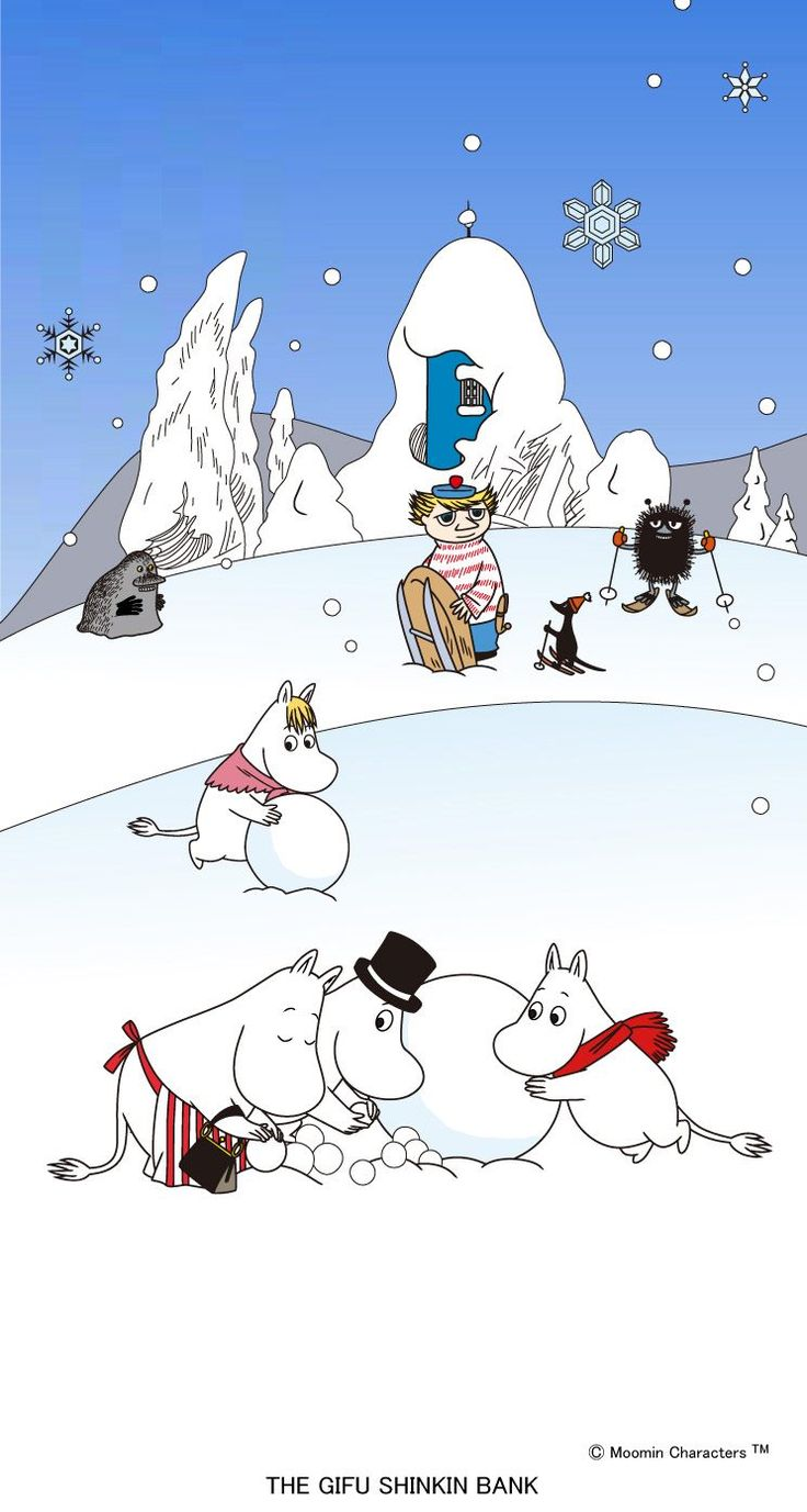 have a merry moomin christmas followers thanks for following me