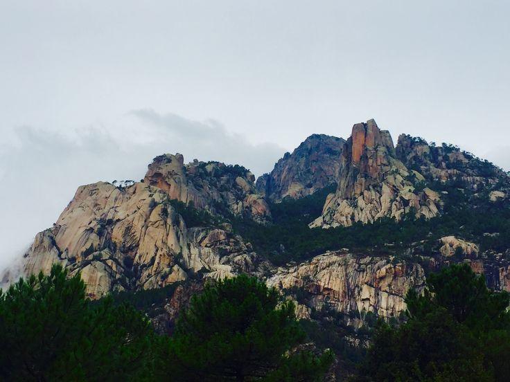 Korsika Col de Bavella