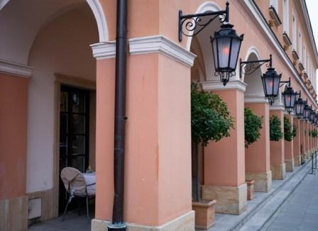 La Rotisserie at Le Regina Hotel in Warsaw