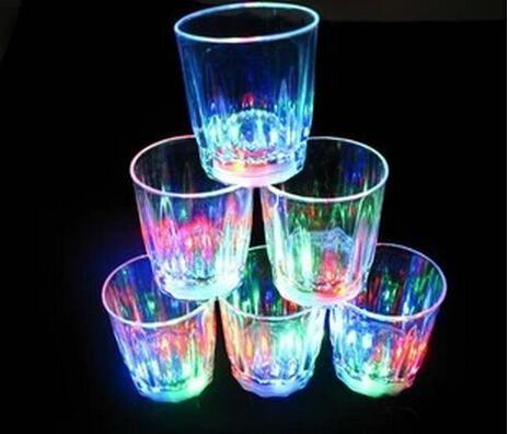 mini lED blinkt kunststoff trinken wein cup bar parties clubs dekorative tasse