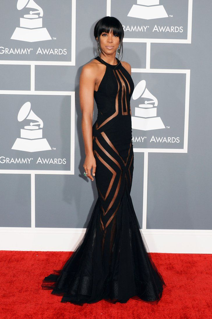 Pin for Later: Retour Sur les Tenues les Plus Folles des Grammy Awards Kelly Rowland en 2014