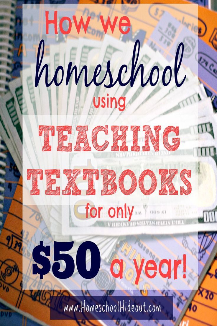 WHAT!?! A legit way to spend less than $50/yr on our most expensive curriculum? Teaching Textbooks on a budget? Yes, please!