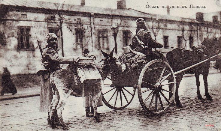 Zdjęcia niezidentyfikowane, Lwów - 1914 rok, stare zdjęcia
