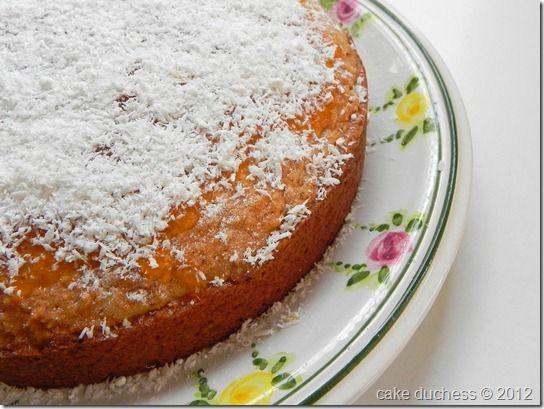 Coconut and Almond Cake {Torta di Cocco e Mandorle}