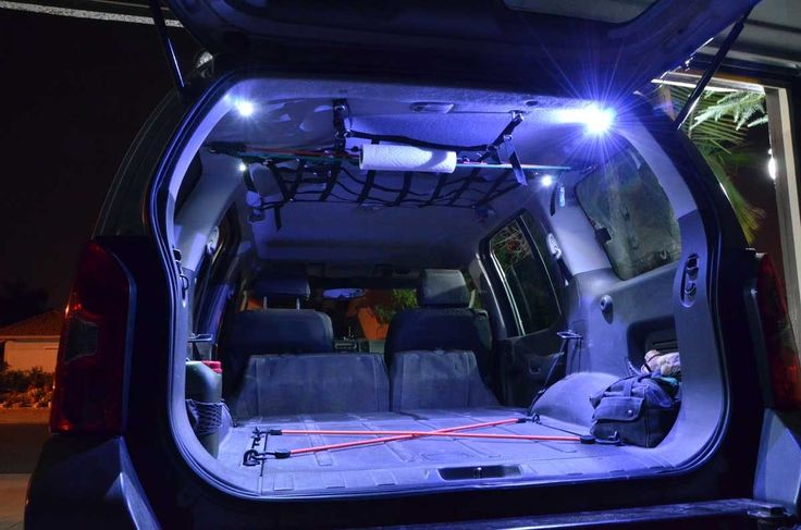 "Subtle LED ""Trunk"" Lighting - Second Generation Nissan Xterra Forums (2005+)"