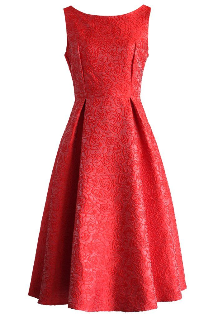 Oh So Fabulous Prom Dress in Red Rose - New Arrivals - Retro, Indie and Unique Fashion