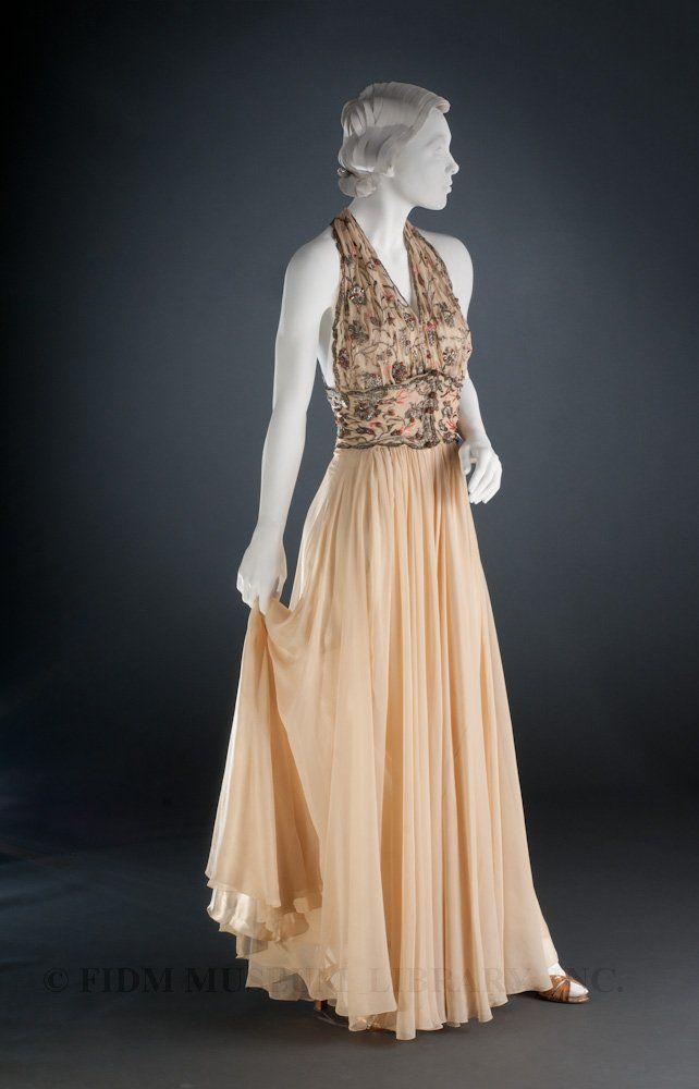 madeleine vionnet | Evening Gown by Madeleine Vionnet, 1936-1938
