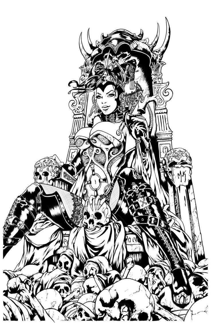 Grimm Fairy Tales 86 Cover by Kromespawn, Gavin Hart on ArtStation at https://www.artstation.com/artwork/2zvqB