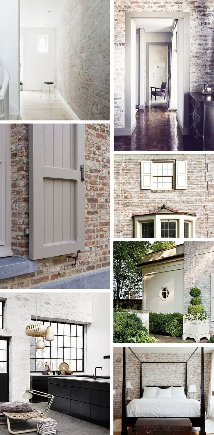 85 best white brick images on pinterest architecture white