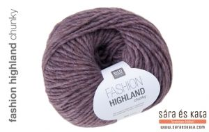Rico Fashion Highland Chunky is part of a hand knitting collection in subdued natural colors. Available in three different tensions, there is a yarn for every project. All hand knitting yarns are easy-care and machine washable.