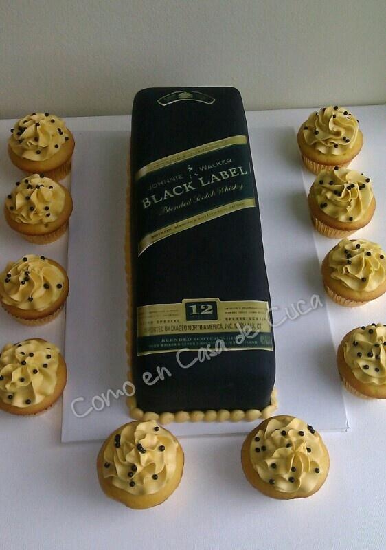 Black Label Cake Dad S Birthday Pinterest Cakes Men