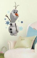 Frozen Olaf Snow Man Wall Decal http://www.muralsforkids.com/products/Frozen-Olaf-Snow-Man-Wall-Decal.html