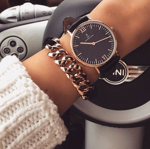 Stylish watches with bracelets http://www.justtrendygirls.com/stylish-watches-with-bracelets/