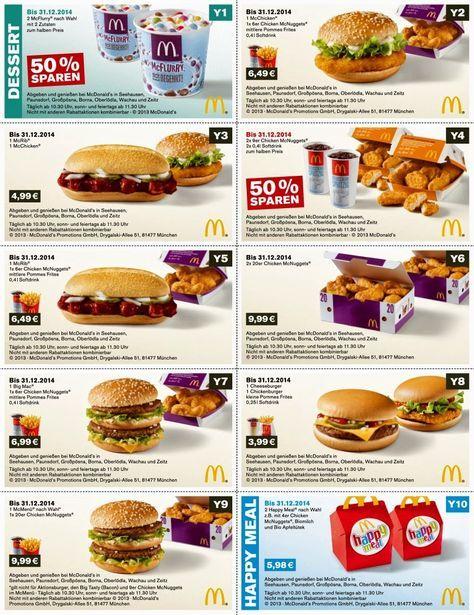 Free Printable Coupons Mcdonalds Coupons Free printable coupons