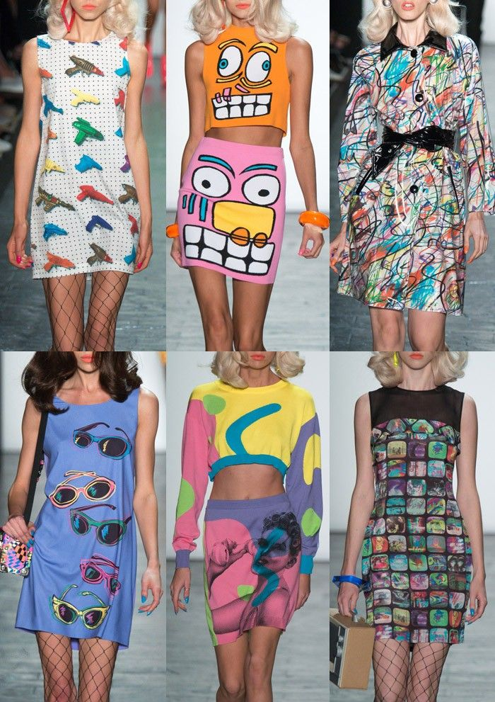 New York Fashion Week Womenswear Print Highlights. Fabtastic, get ready 2016, I'm comin' for ya!