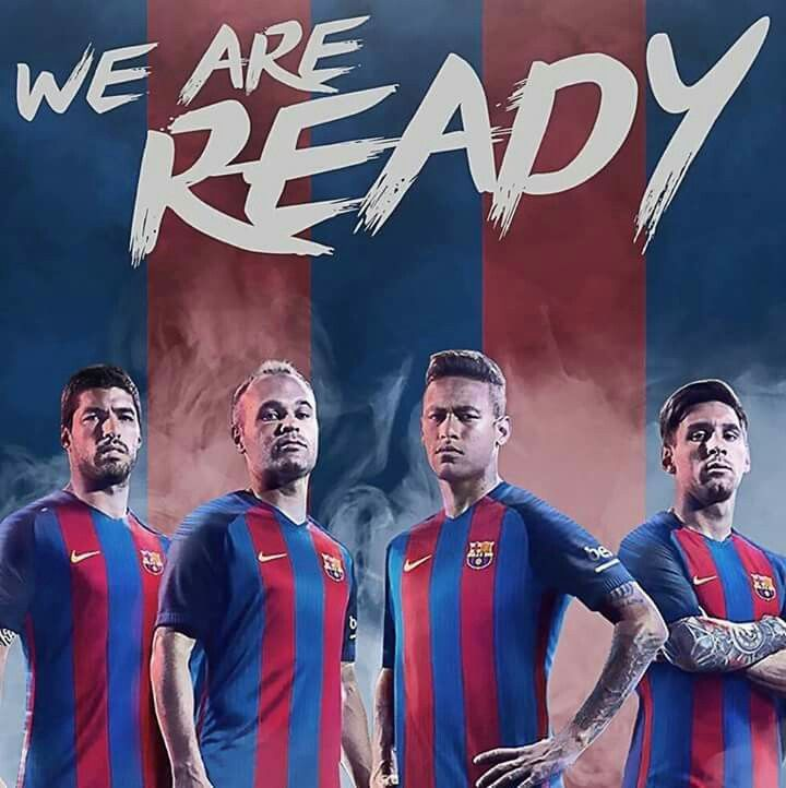 WE ARE READY.